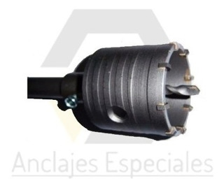 Mecha Copa Widia 125mm+extension Sds Max 370mm.envio Gratis!