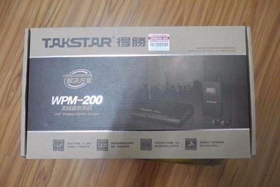 Takstar Wpm 200 Novo Sem Fio Ponto In Ear Dj Fone Wpm200