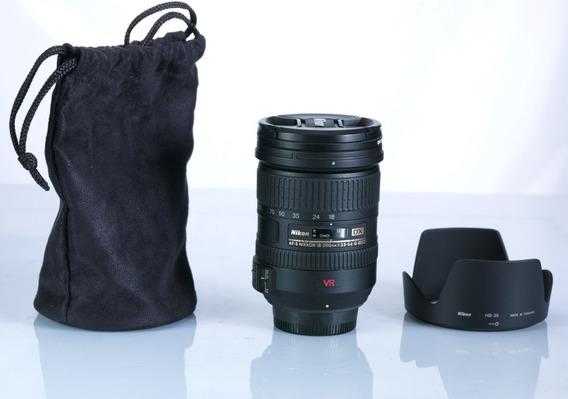 Lente Nikon Afs 18-200mm Vr Usada Uma Vez.