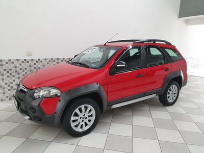 Fiat Palio Weekend Adventure 1.8 Flex 2015 Vermelho Manual