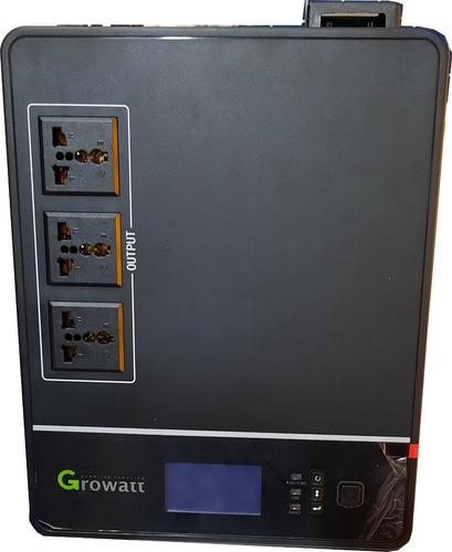 Imagen 1 de 1 de Inversor Growatt Off Grid 1200 Va Con Regulador Pwm