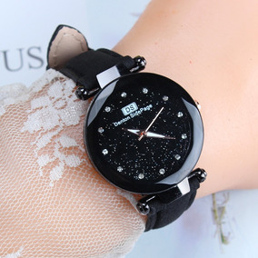 Quartz Wristwatch Starry Sky Roxo