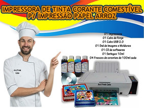 Impressora Multifuncional Tinta Pra Papel Arroz Comestível