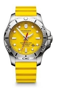 Relógio Victorinox I.n.o.x. Professional Diver Amarelo