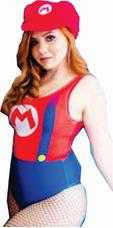 Fantasia Body Feminino Super Mario Carnaval 2018 Nerd d371bd9280c