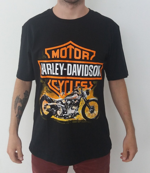 Camiseta Harley Davidson - Bobber