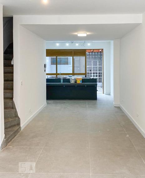 Casa Para Aluguel - Brooklin, 2 Quartos, 120 - 893114450