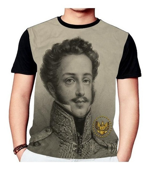 Camisa Camiseta Dom Pedro I Do Brasil Rei Soldado 1233