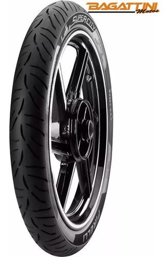 Cubierta Pirelli Super City 80 100 18 47p Bagattini Motos