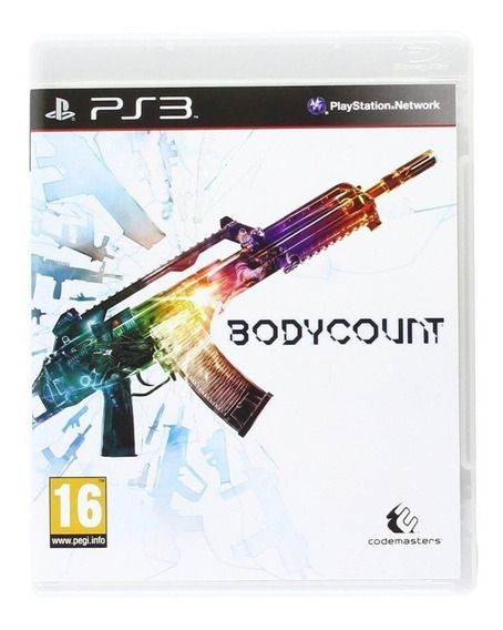 Game Ps3 Bodycount Original - Novo - Lacrado