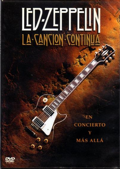 Led Zeppelin - La Canción Continúa / Dvd Original