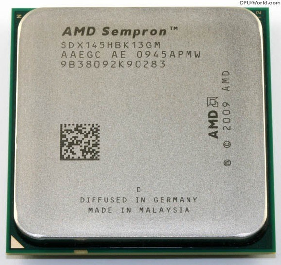 Processador Amd 2.8ghz Sempron 145 Skt. Am3 Envio T.brasil