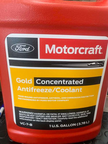 Gold Concentrated Antifreeze