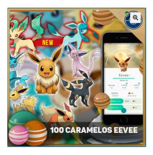 100 Caramelos De Eevee En Pokemon Go - Servicio De Farmeo