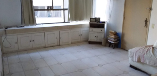 Imagem 1 de 14 de Aparecida- Apartamento Na Praia 1 Dorm-wc Emp-vg Demarcada
