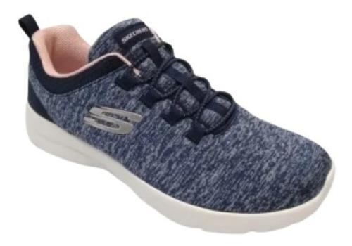 Zapatillas Skechers Mujer In A Flash Azul- 12965