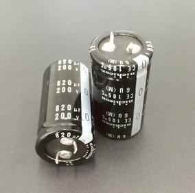Capacitor Eletrolítico 820uf 200v