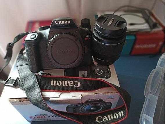 Câmera Canon Digital T6 Ef-s 18-55 F/3.5-5.6