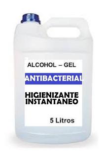 Bidon X 5 Litros Alcohol En Gel Hidrogel Envio Gratis