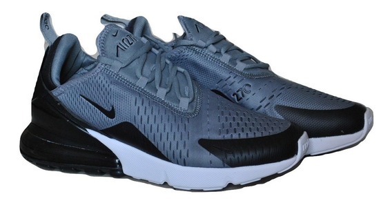 Kp3 Zapatos Caballeros Nike Air Max 270 Gris / Negro