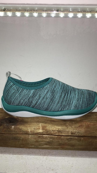 Zapatilla Moderna Flexible De Mujer Baja Deportiva Art 17580
