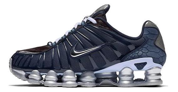 Tênis Nike Shox Tl 12 Molas Azul Promoção