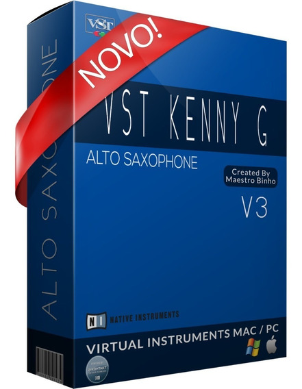 Fantástico Sample Sax Alto Kenny G Para Kontakt - Ver Vídeo