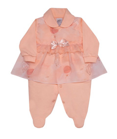 Macacão Bebê Menina De Malha Sonho Mágico