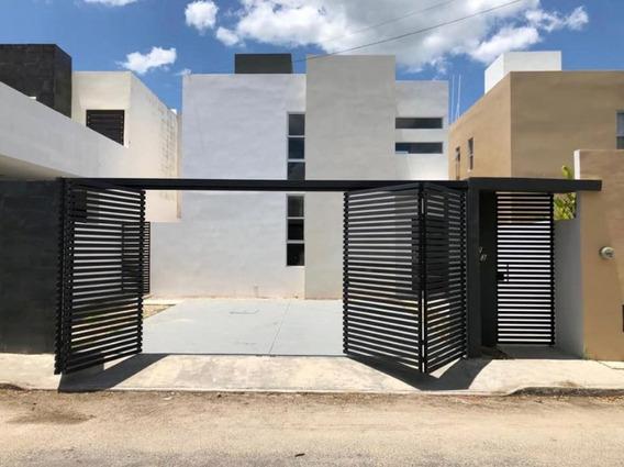 Casa Cholul Al Norte De Mérida Cerca De Plazas Comerciales