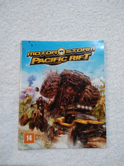 Manual Do Game Motor Storm Pacific Rift Ps3 **** Leia