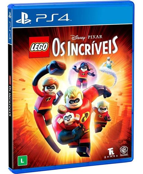 Lego Os Incríveis Ps4 Mídia Física Lacrado Pt Br