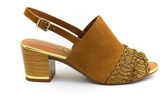 Sandália Dakota Caramelo/dourado B8201 Islen Calçados