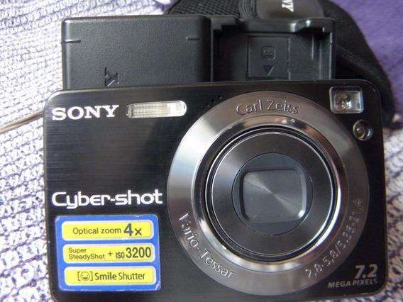 Câmera Digital Sony Funcionando Perfeitamente