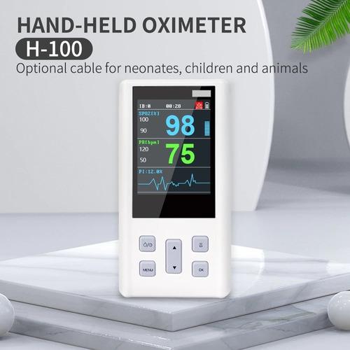 Aparelho De Dedo Para Medir Batimentos Oxigenação C/ Curva