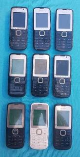 Lote Com 9 Celulares Nokia C2-00 (leia A Descrição)