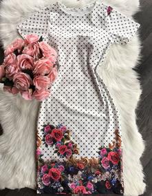 Vestido Midi Longuete Moda Evangelica Tubinho Bojo Sereia
