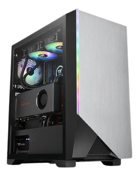 Gabinete Thermaltake Tt H550 Tg Argb Aluminio Gamer Pc