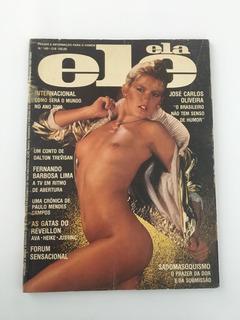 Revista Ele Ela Dezembro 1980 Nº 140