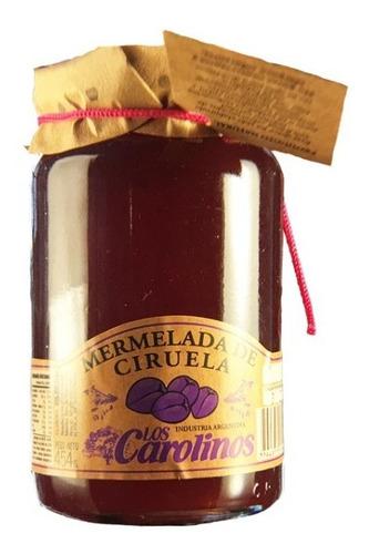 Mermelada De Ciruela X 484 Pack 3 Uni - Los Carolinos