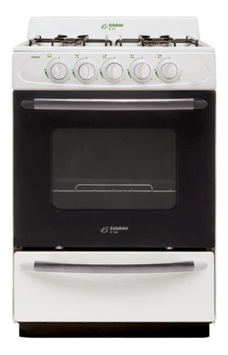 Imagen 1 de 1 de Cocina Eslabón de Lujo EFM56NB2A multigas 4 hornallas  blanca puerta  con visor