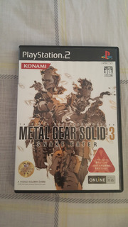 Metal Gear Solid 3 Ps2 Verión Japonesa