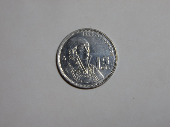 Moneda 1 Peso De 1986 Morelos