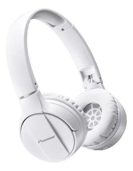 Fone De Ouvido Pioneer Se-mj553bt Branco - Sem Fio Bluetooth