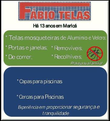 Fabio Telas Mosquiteiras Aluminio E Velcro Capas De Piscina