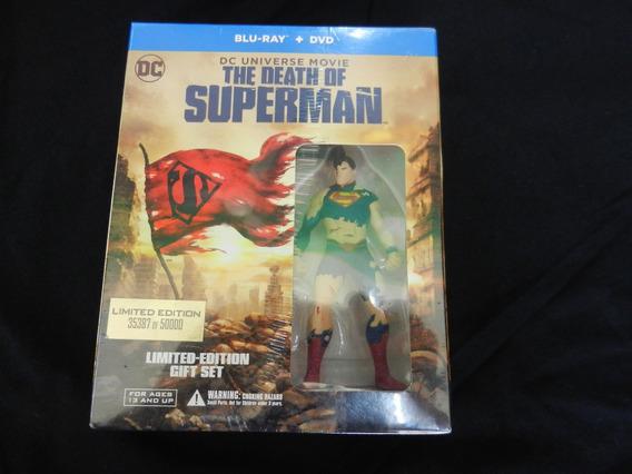 The Death Of Superman Bluray Mas Dvd Envio Gratis