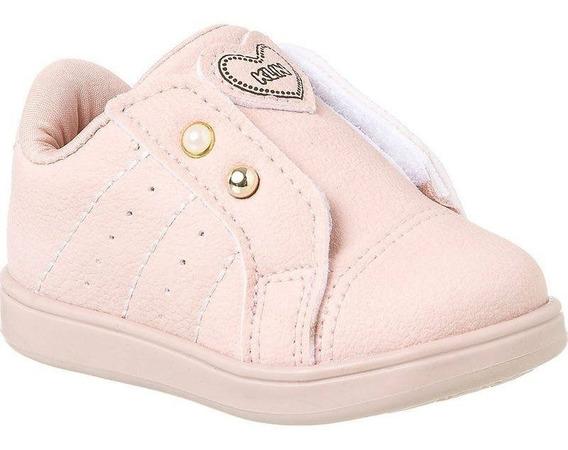 Tênis Bebê Mini Gloss Glitter Nº 17 Ao 22 Klin Menina