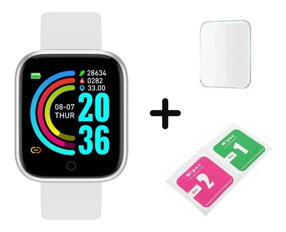 Smartwatch Relógio Inteligente Homens Mulheres + Película