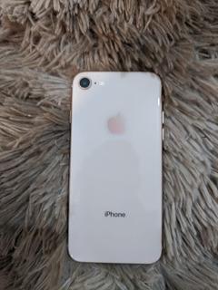 Vendo iPhone 8 Gold Rose 64 Gb-perfecto Todo Original-libre