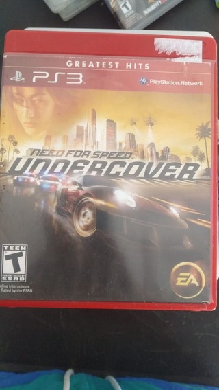 Need For Speed: Undercover Ps3 (frete 15 Reais)