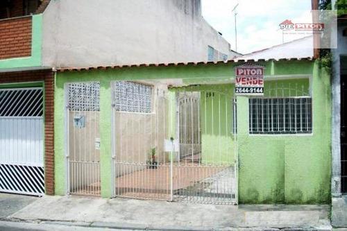Imagem 1 de 12 de Casa Com 2 Dormitórios À Venda, 110 M² Por R$ 300.000,00 - Ponte Rasa - São Paulo/sp - Ca0037